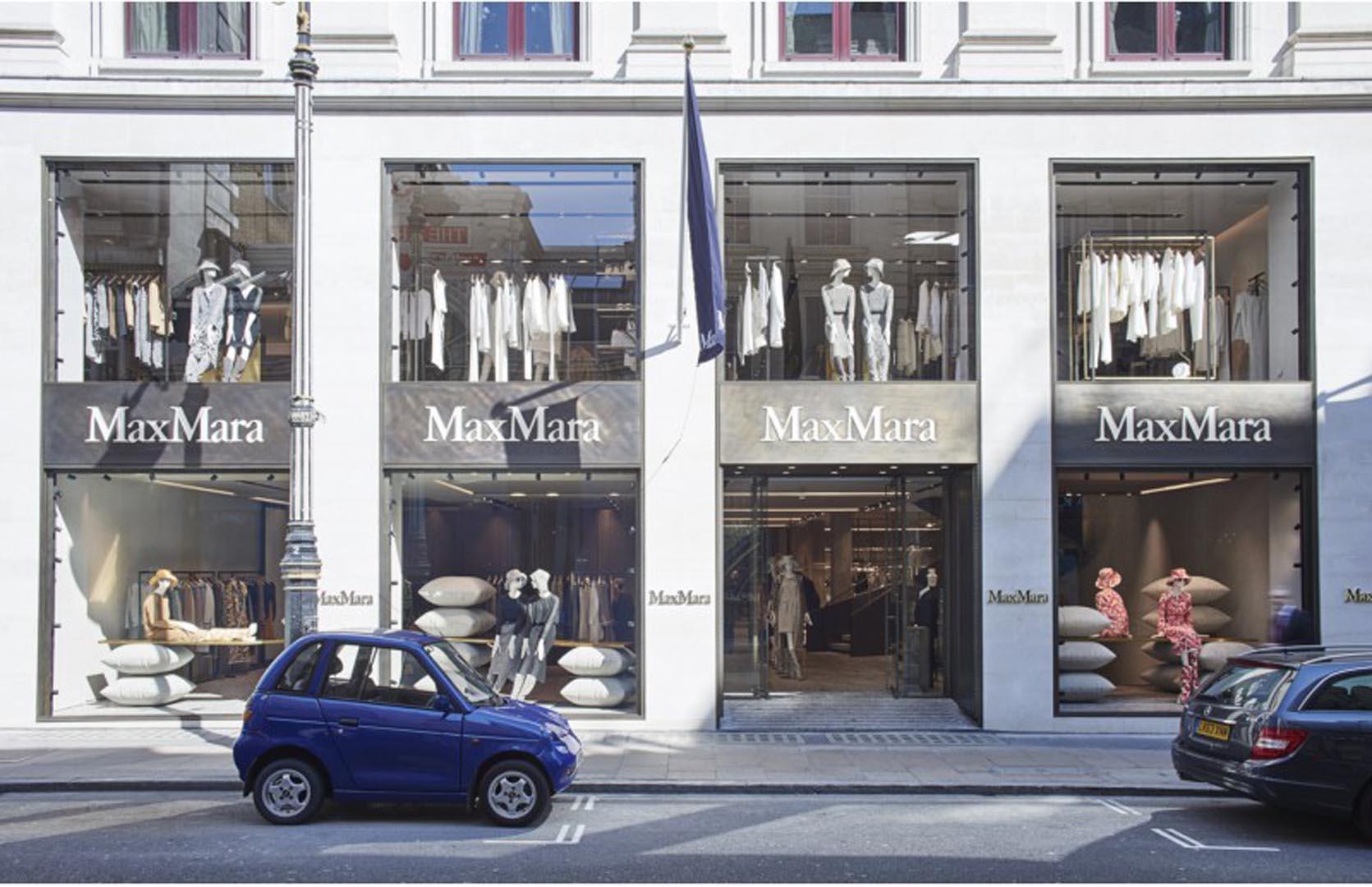 Max Mara Londra- audio luci - lorri
