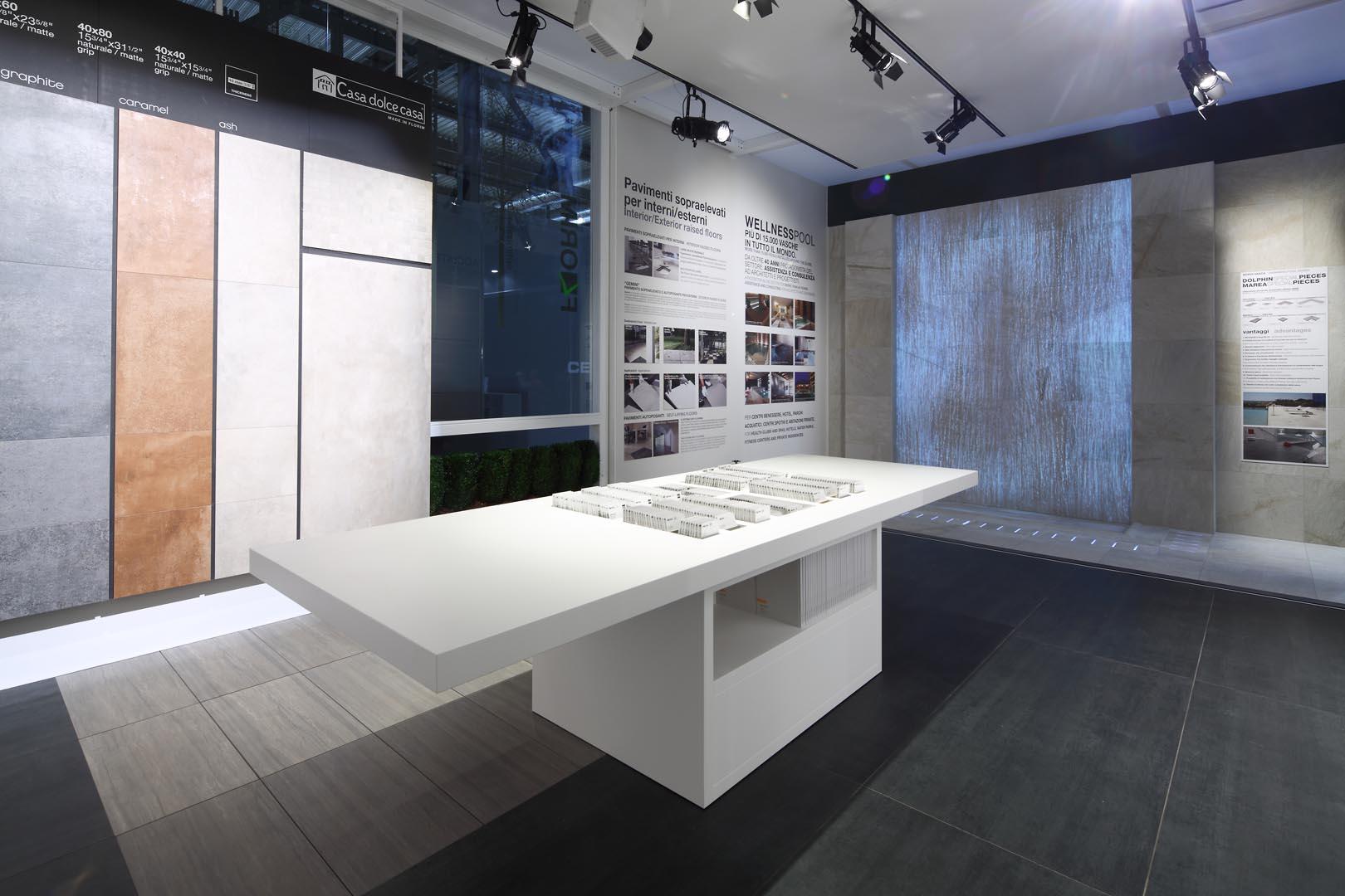 Florim- Salone Mobile - ledwall - Lorri