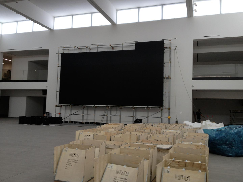 Florim-mega led wall-installazione-lorri
