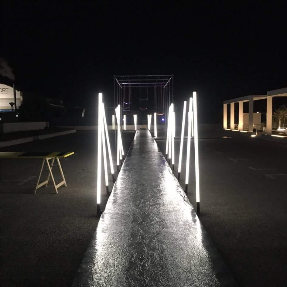 Graniti Fiandre - illuminotecnica - Lorri
