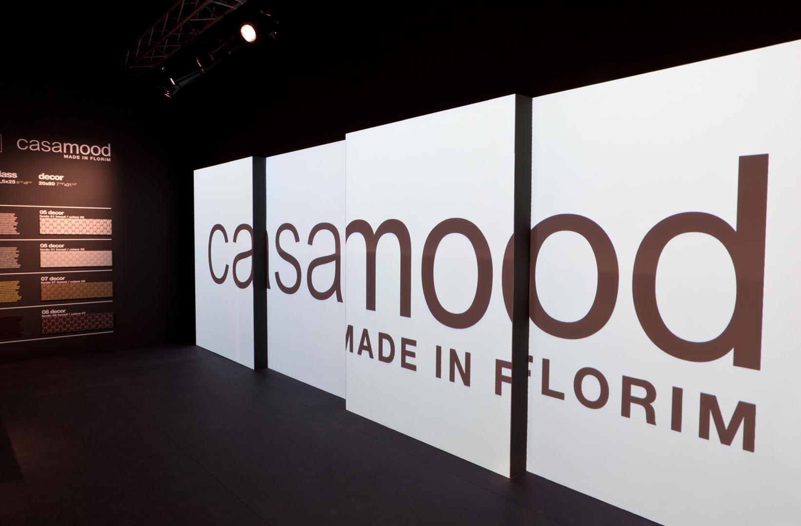 Casamood Florim-Cersaie-installazione audio video-lorri