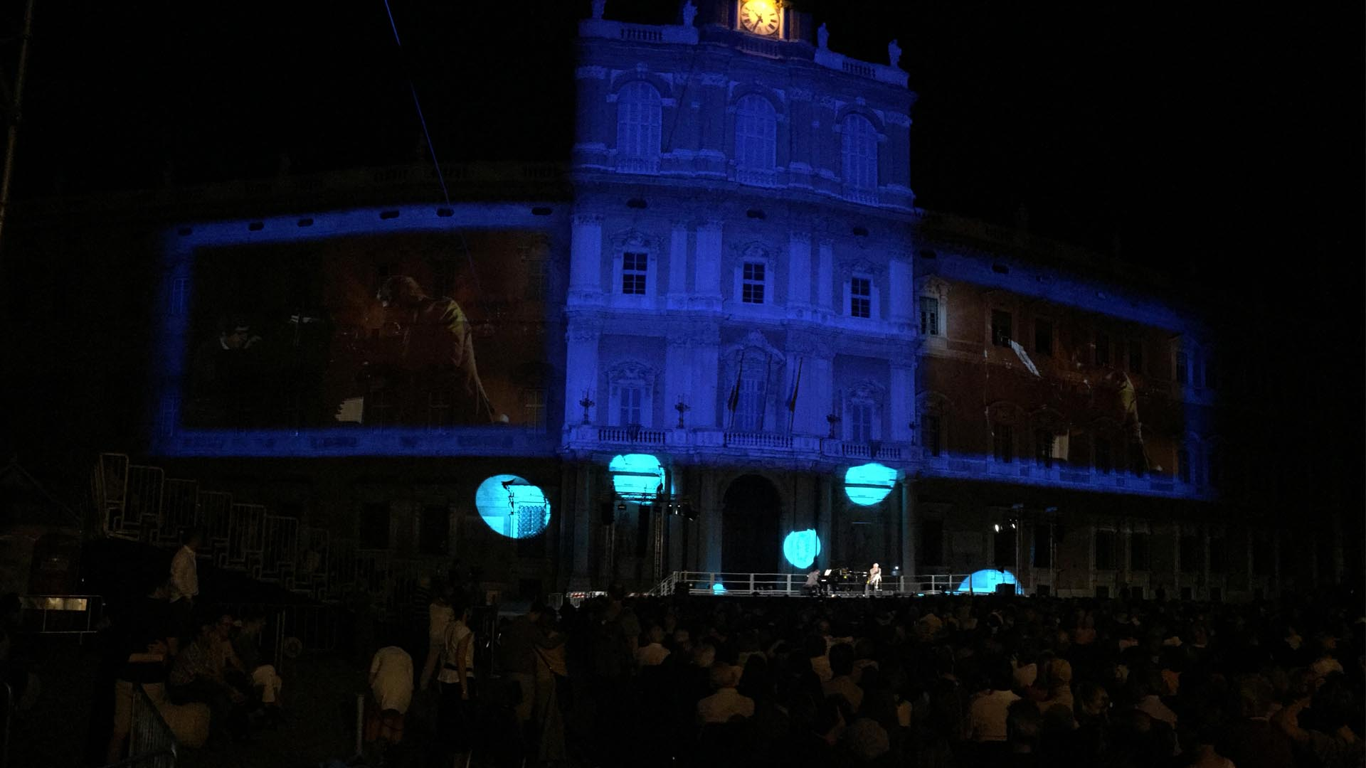 video mapping modena BPER - Lorri