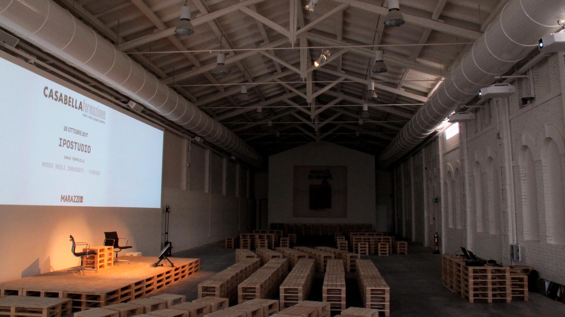 Marazzi Crogiolo-installazione audio video-lorri