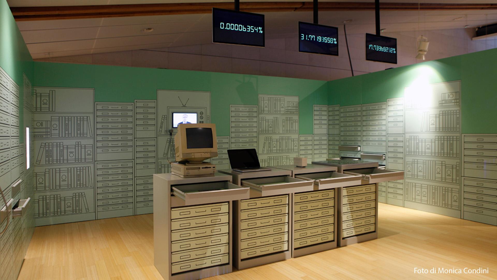 Museo Trento – Genoma Umano-installazione multimediale-lorri