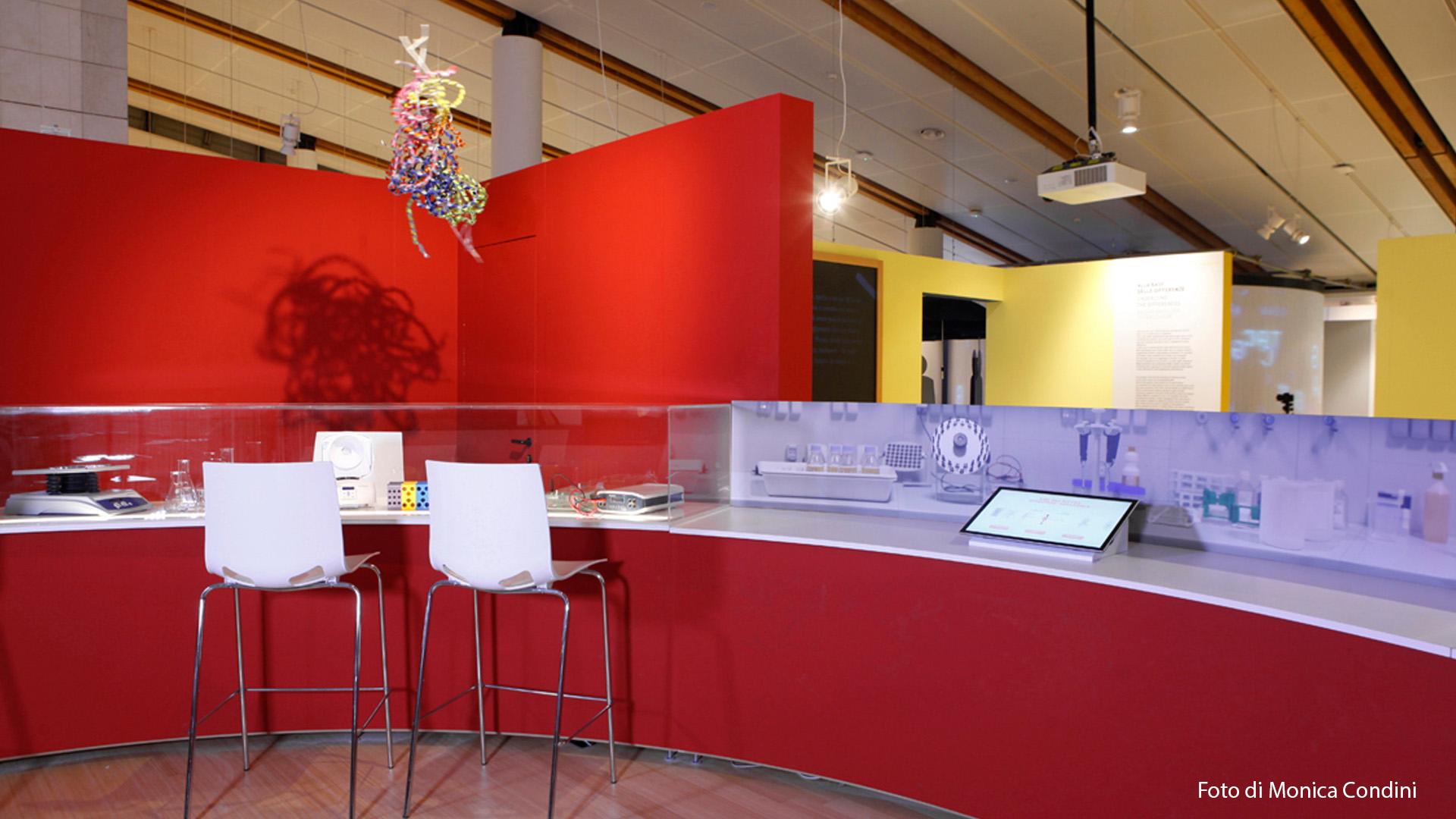 Museo Trento – Genoma Umano- installazione multimediale-lorri