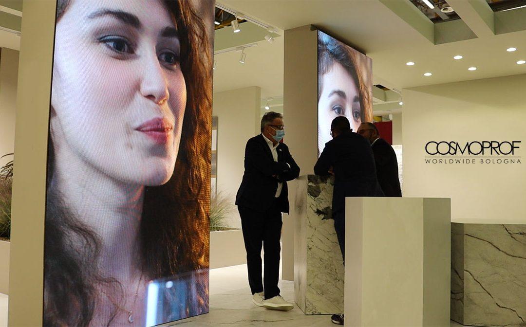 big screens and led displays for Fair Cosmoprof